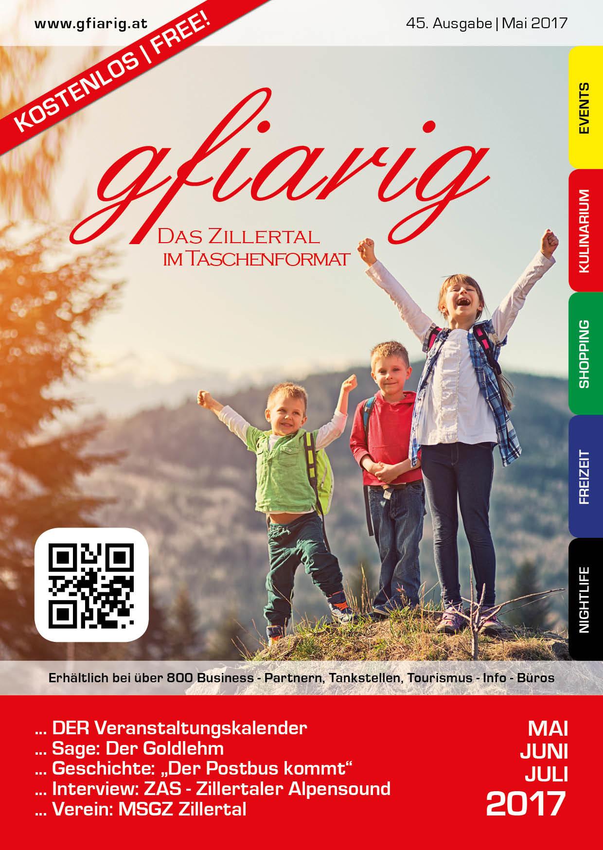 Gfiarig - 45.Ausgabe - Mai 2017