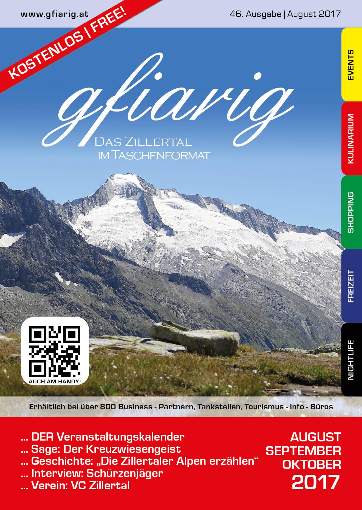 Gfiarig - 46.Ausgabe - August 2017