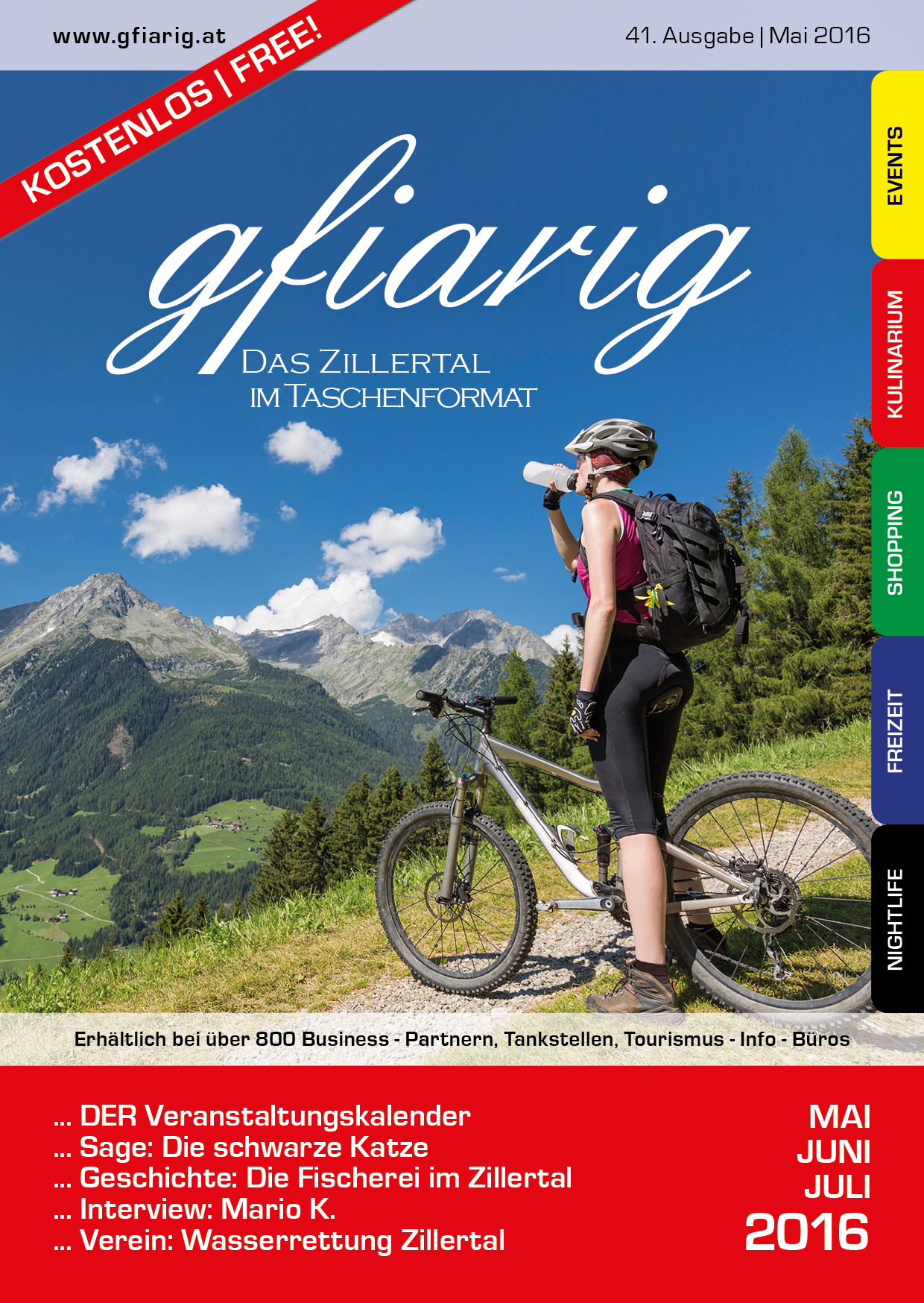 Gfiarig - 41.Ausgabe - Mai 2016