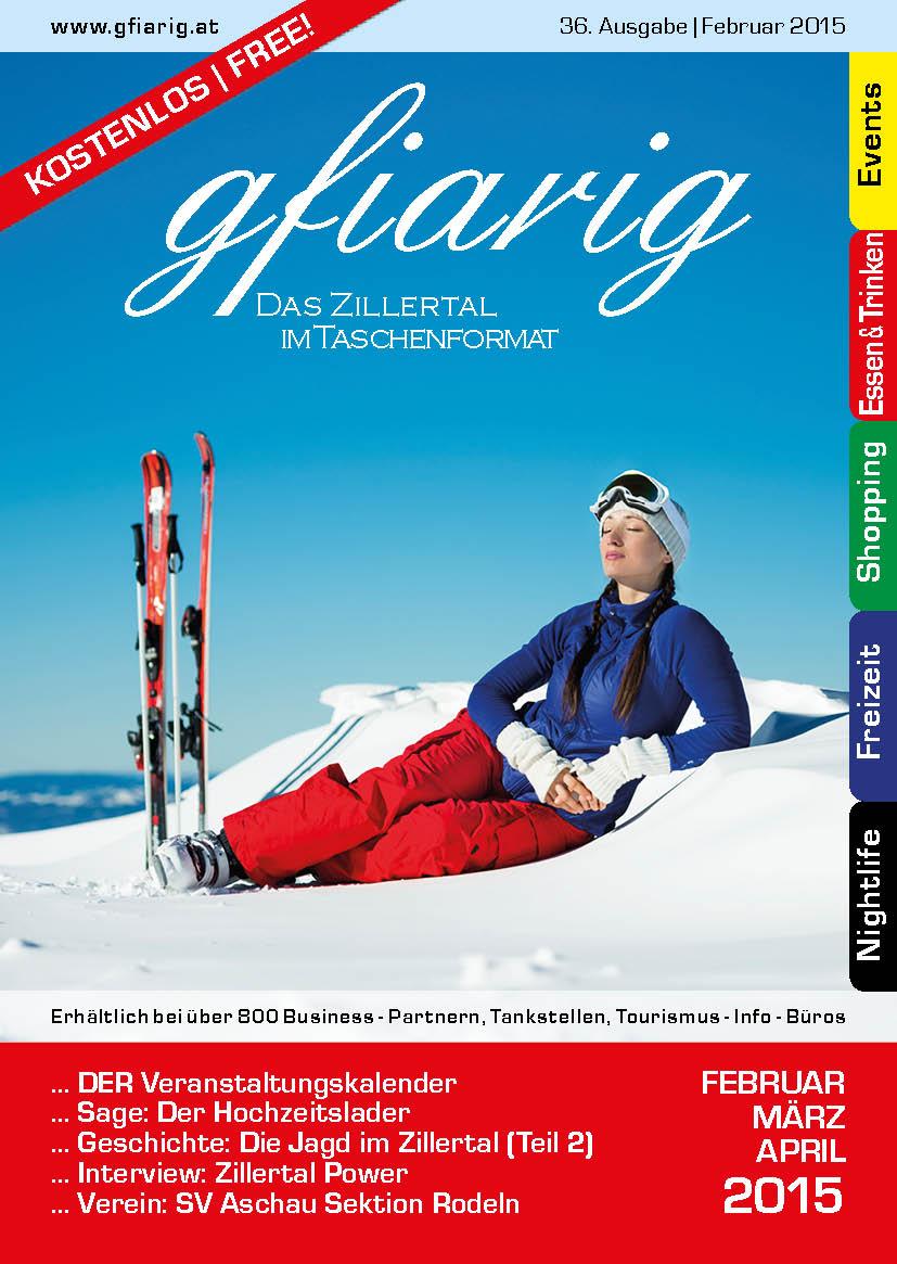 Gfiarig - 36.Ausgabe - Februar 2015