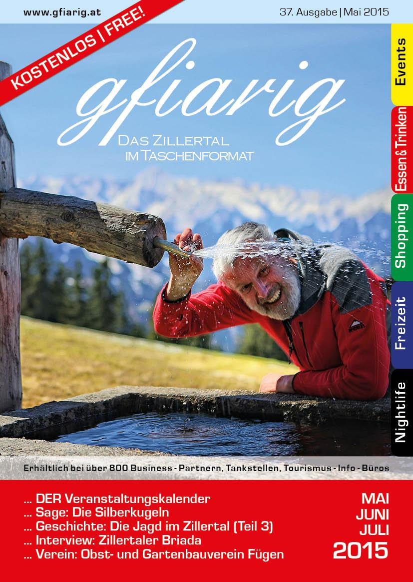 Gfiarig - 37.Ausgabe - Mai 2015