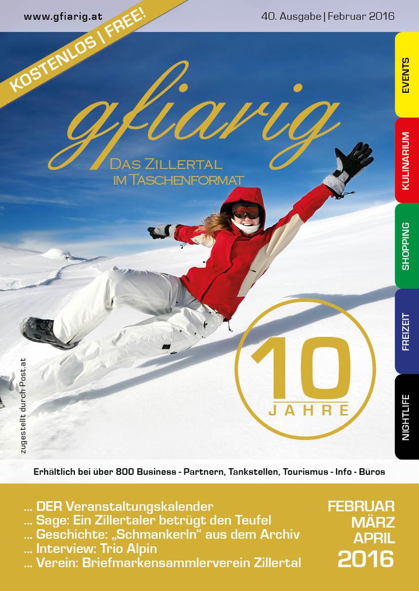 Gfiarig - 40.Ausgabe - Februar 2016