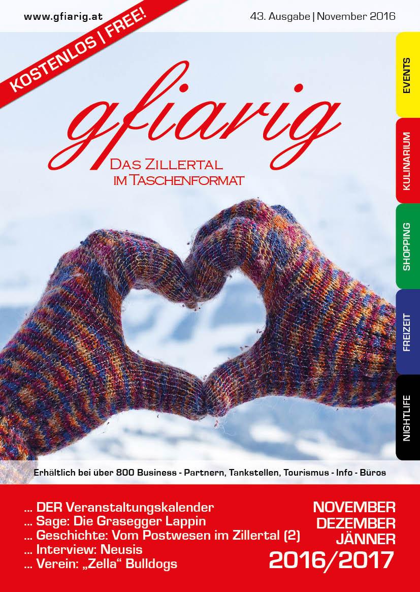 Gfiarig - 43.Ausgabe - November 2016