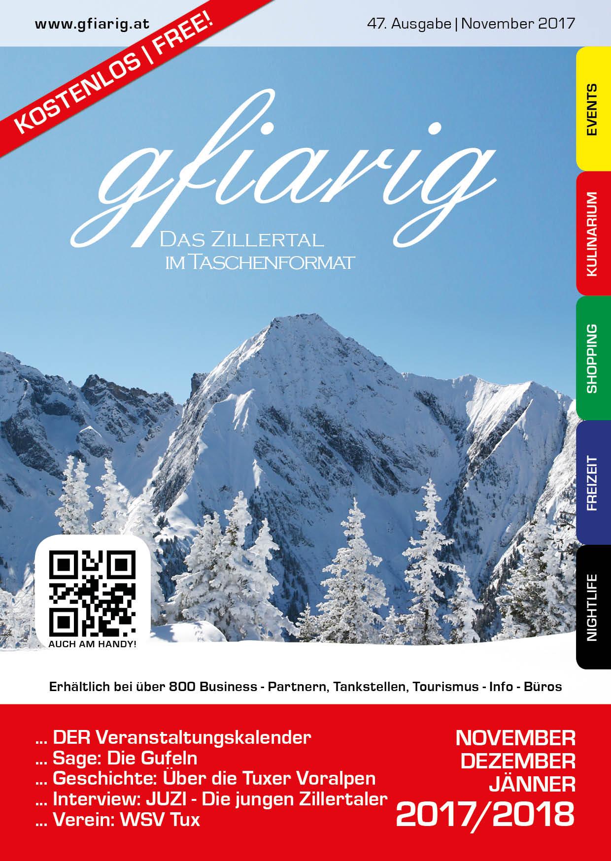 Gfiarig - 47.Ausgabe - November 2017